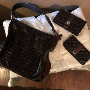 Brighton purse, wallet & ck book set.